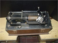 EDISON HOME PHONOGRAPH, MISSING HORN,
