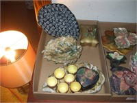 2 BOXES OF ARTISAN / HOMEMADE POTTERY