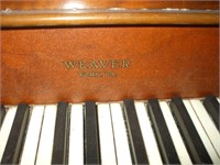 WEAVER SPINET PIANO, YORK PA, WILL NEED SOME WORK,