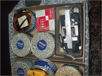 2 BOXES OF 1950'S 8MM FILM