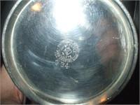 PAIRPOINT QUADRUPLE PLATE TEA SET 334 W/