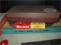GROUPING OF GAMES, INCLUDING: NANCY DREW &