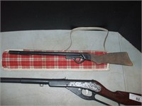 DAISY MODEL 80 BB GUN AND OLDER CORK GUN