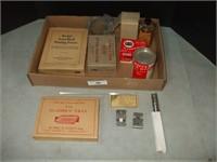 BOX OF PHOTOGRAPHIC SUPPLIES, KODAK ITEMS