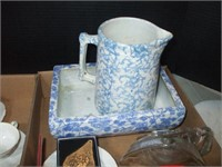 2 BOXES OF CUPS AND SAUCERS, COLLECTIBLES, POTTERY