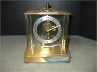 KUNDO BATTERY OPERATED CLOCK, ROUGH CASE