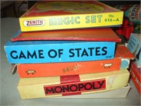 GROUPING OF GAMES AND OLDER TOYS