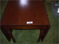 "PINE DROP LEAF TABLE: 62"" OPEN, 48'' WIDE, 22"""