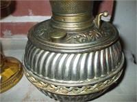 2 OIL LAMPS, OLDER