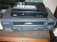 GROUPING W/ TELEVISION, SAMSUNG CABLE BOX,  DVD