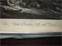 PRINT OF BUNKER HILL, NEAR BOSTON