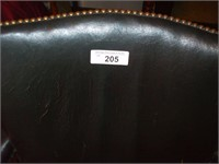 ROLLING OFFICE CHAIR, W/ HOLE IN SEAT