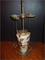 NIPPON STYLE DUAL LAMP BASE WITH GOLD ACCENTS