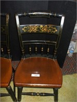 2 HITCHCOCK SIDE CHAIRS (GOOD CONDITION),