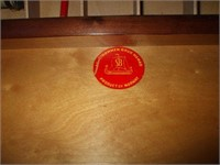 SEWING BASKET / CABINET W/ CONTENTS