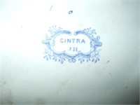 CINTRA TRANSFERWARE PITCHER AND BASIN,