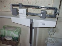 DETECTO FLOOR SCALE, WORKING CONDITION