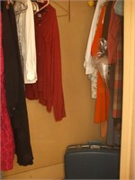 CONTENTS OF THE CLOSET OF BEDROOM #4: