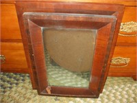 6 VARIOUS SIZE AND CONDITION MIRRORS