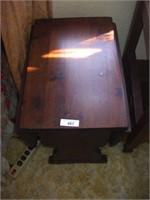 """PINE DROP LEAF TABLE 24""""X 15 1/2""""X 24"""" TALL"""