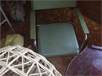 CONTENTS OF THE CORNER OF THE ATTIC, CHAIRS, BEDS