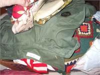 CLOTHES, FRAMES, BOOKS, AFGHANS, ARCTIC CAT