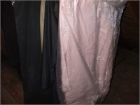 COLLECTION OF LADIES' CLOTHES IN THE CENTER  ATTIC