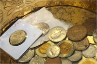 Lot of Various Coins,Foreign,etc