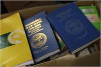 Box of Books,Annual,Cookbooks,etc