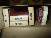 15 BOXES OF LEADER SPARKLERS (OLDER)