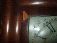 SETH THOMAS OG STYLE CLOCK (VENEER DAMAGE)