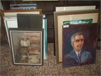 GROUPING OF 20 PAINTINGS / PRINTS
