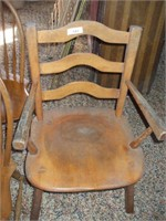 3 MAPLE CHAIRS