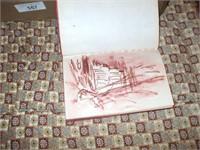 2 ARTIST BOXES, PAINTS, 8 TRACKS, PAINT BOOKS,