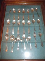 CASE OF 24 STERLING SPOONS