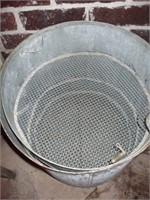LARGE GALVANIZED STEAMER / COOKER