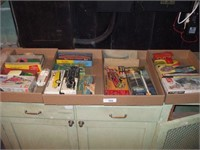 6 BOXES OF PLASTIC MODELS, AND DEALER PROMO CARS,