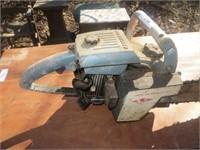 "VINTAGE HOMELITE XL-12 CHAINSAW (25"" BAR, ROUGH)"