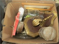 3 BOXES OF VARIOUS GLASSWARE