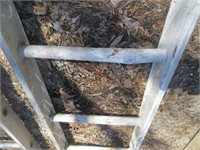 (2) 20 FT. ALUMINUM LADDERS  AND