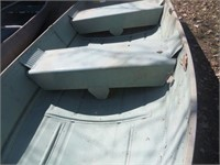 """12 SEARS """"GAME FISHER"""" ROW BOAT , ALUMINUM"""