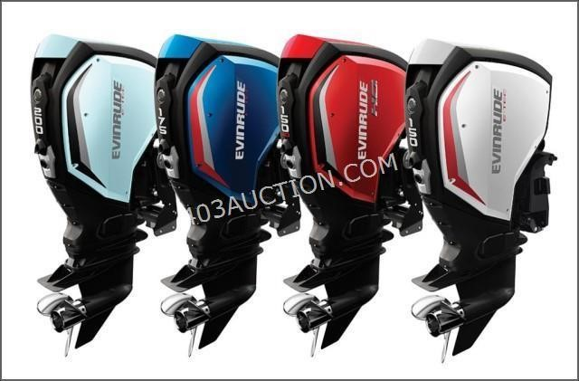 14 Lots | Online Only Evinrude Outboard Motor Auction #1270