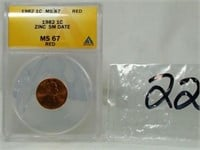 KTB Rare Coins and Currency August Auction