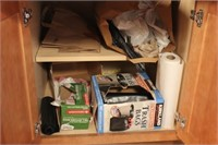Contents of 2 Drawers and 3 Cabinets