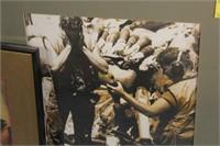Bulova Advertising Print and Military Print
