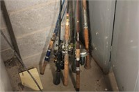 Variety of Fishing Rods with Reels
