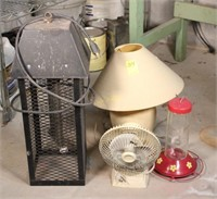 Bug Zapper, Lamp, and More