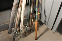 Fishing Rods and 2 Rod Cases