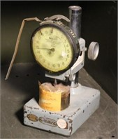 Federal Dial Indicator Measuring Tool on Base