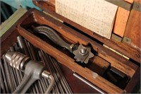 *Spring Making Tool in Wooden Box